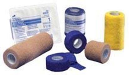"Picture of Kendall™ Cohesive Bandage, 1"" x 5 yds, Blue"
