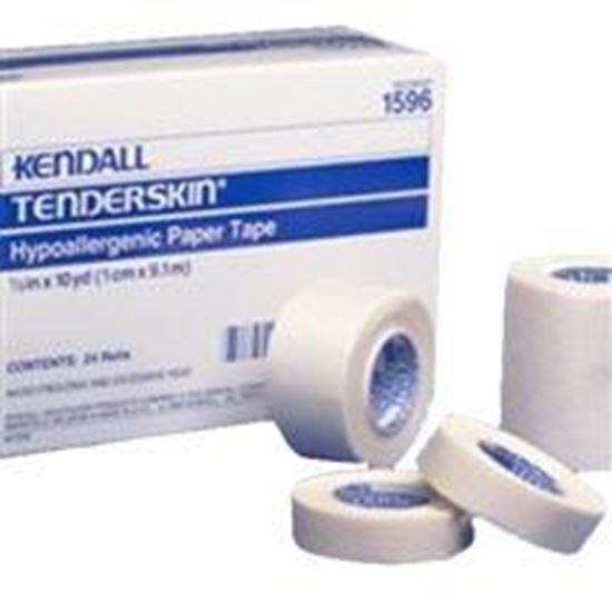 """Picture of Kendall™ Hypoallergenic Paper Tape, 2"""" x 10yds,"""