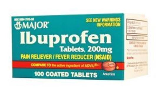 Picture of Major Analgesic Ibuprofen Tablets, 200mg