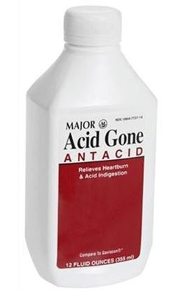 Picture of Major Antacid Liquid, Acid Gone, 12 oz.