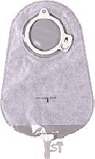 "Picture of MAXI Urostomy Pouch, 375ml, L=10¾"", B=3 15/16"", C=1 15.16"", 2-piece, Transparent"