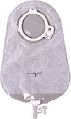 "Picture of MAXI Urostomy Pouch, 375ml, L=10¾"", B=3 15/16"", C=2"", 2-piece, Transparent"