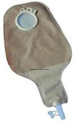 "Picture of MAXI Urostomy Pouch, 488ml, L=10½"", B= 3 5/16"", C=1 11/16"", 2-Piece, Transparent"