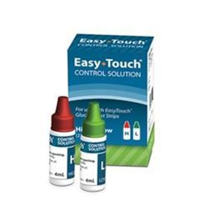 Picture of MHC EasyTouch® Glucose Control Solution, Hi/Low 2-Pack