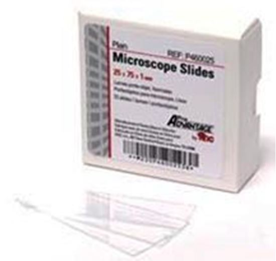 Picture of Microscope Slides, Frosted Microscope Slides, 75mm x 25mm
