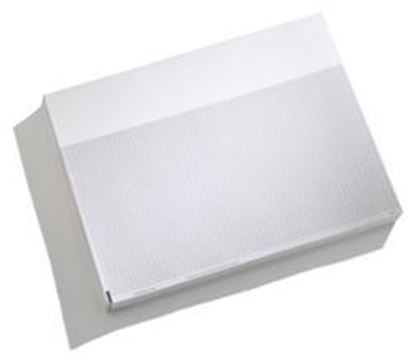 "Picture of Mortara Burdick Heartline® Thermal ECG Paper, 8.5"" x 11"", Red Grid, Z-Fold, 200/pd"