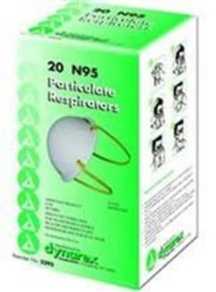 Picture of N95 Particulate Respirator Mask - Molded    (Non-Refundable item – No Returns)