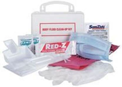 Picture of National Standard EZ-Cleans® kit, Plastic, Case of 12