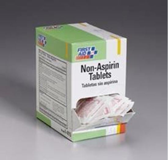 Picture of Non-Aspirin2 tablets/pack, 125 packs/box