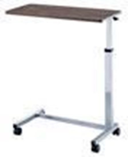 """Picture of Non-Tilt Overbed Table, highest 47"""",Lowest 30"""", depth 15"""""""