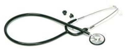 Picture of Nurse Stethoscope, Black