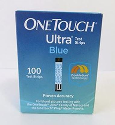 Picture of OneTouch® Ultra® Blood Glucose Test Strip 100ct, Retail
