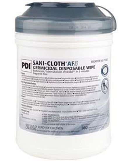 """Picture of PDI Sani-Cloth® AF3 Germicidal Disposable Wipe, Large, 6"""" x 6¾"""","""