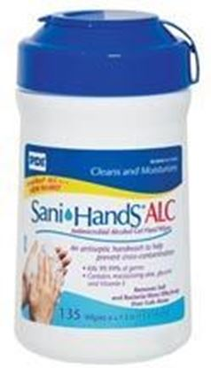 "Picture of PDI Sani-Hands® Instant Hand Sanitizing Wipe, Medium, 6"" x 7 1/2"""