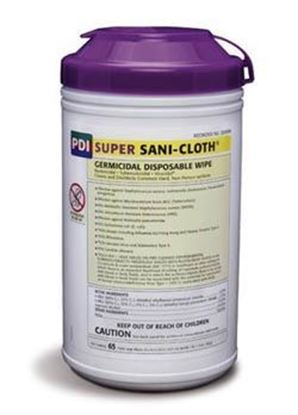 "Picture of PDI Super Sani-Cloth® Germicidal Disposable Wipe, X-Large, 7 1/2"" x 15"""