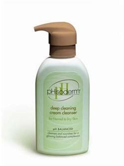 Picture of Phisoderm® Deep Clean Cream Cleanser, Normal To Dry Skin, 6 OZ Bottle