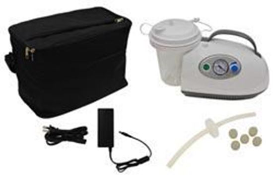 Picture of Portable Suction Machine With Rechargeable Battery