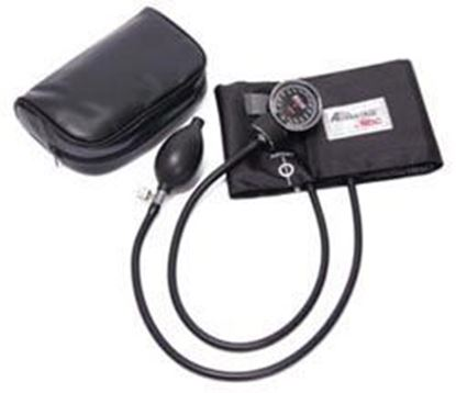 Picture of Premium Pocket Aneroid Sphygmomanometer, Large Adult, Black