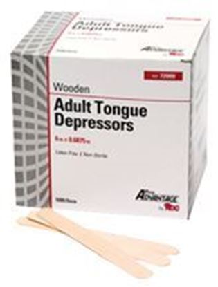 "Picture of Pro Advantage® Tongue Depressors, Adult 6"" x 11/16"" Non-Sterile"