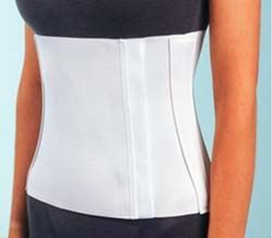 Picture of ProCare® Abdominal Binder, White, Large
