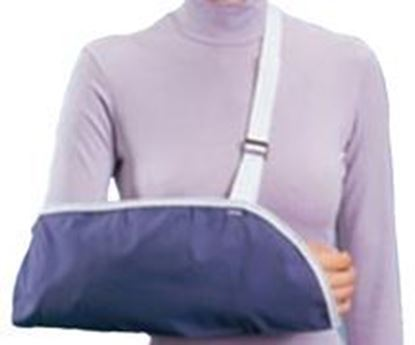 Picture of ProCare® Clinic Arm Sling, Blue, Large, Pack/6