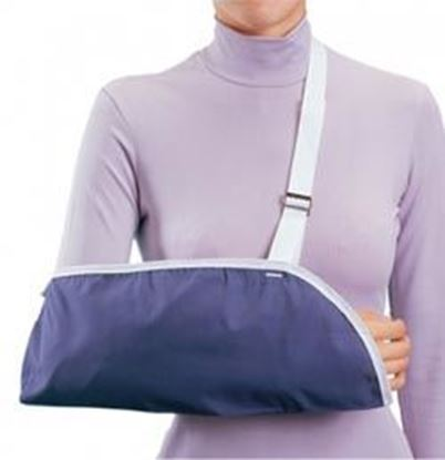 Picture of ProCare® Clinic Arm Sling, Blue, Pediatrics X-Small, Pack/6