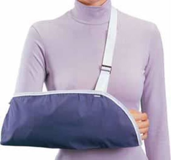 Picture of ProCare® Clinic Arm Sling, Blue, Pediatrics XX-Small, Pack/6