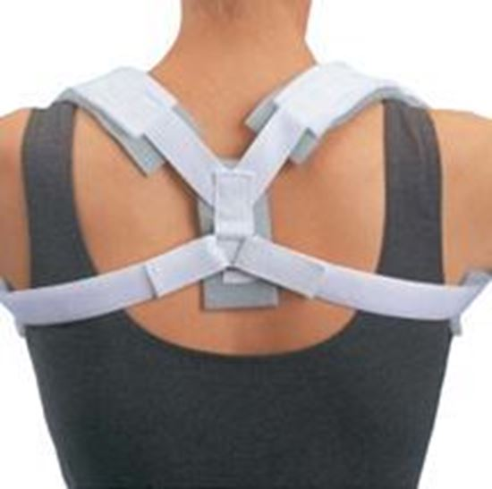 Picture of ProCare® Contoured Clavicle Splint, White,  X-Large