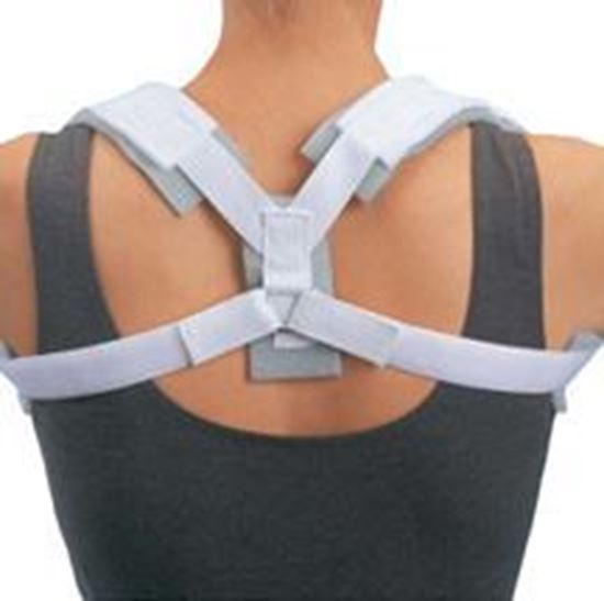 Picture of ProCare® Contoured Clavicle Splint, White, Small