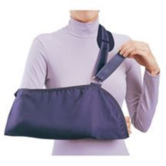Picture of ProCare® Deluxe Arm Sling w/Pad, Black, Medium