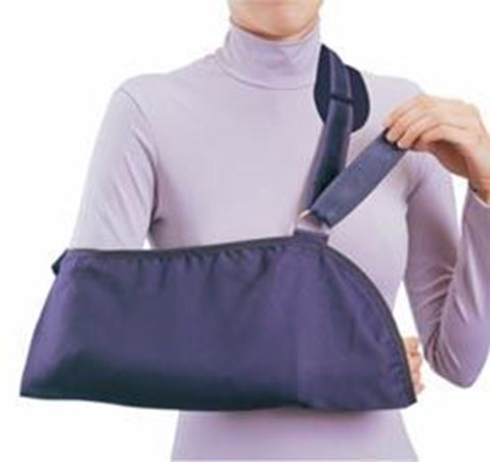 Picture of ProCare® Deluxe Arm Sling w/Pad, Black, Small