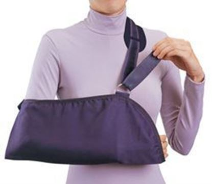 Picture of ProCare® Deluxe Arm Sling w/Pad, Black, X-Large