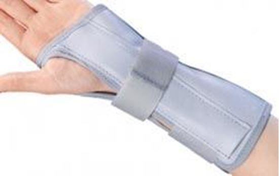 "Picture of ProCare® Deluxe Wrist & Forearm Support, 10"" Grey, Medium, Left"