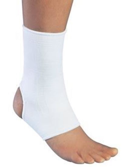 Picture of ProCare® Elastic Ankle Support, White,  X-Large, Universal