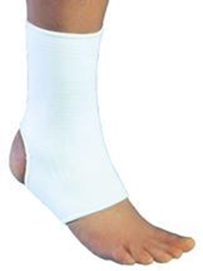 Picture of ProCare® Elastic Ankle Support, White, XX-Large, Universal