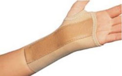 Picture of ProCare® Elastic Wrist Brace, Tan, Large, Right