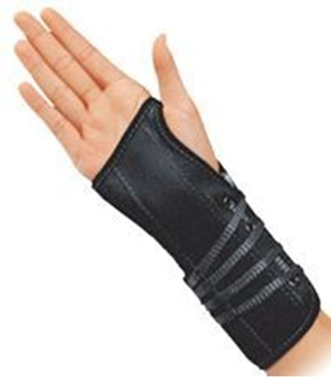 Picture of ProCare® Lace-Up Wrist Support, Black, Large, Left