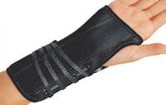 Picture of ProCare® Lace-Up Wrist Support, Black, Medium, Left