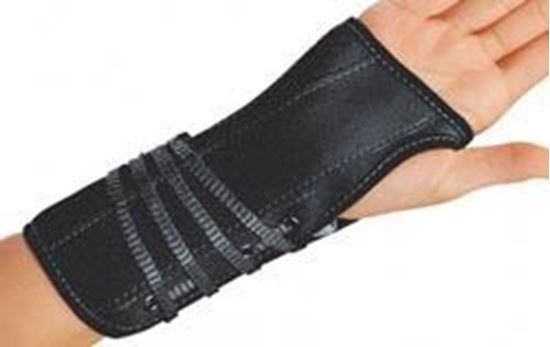 Picture of ProCare® Lace-Up Wrist Support, Black, Small, Right