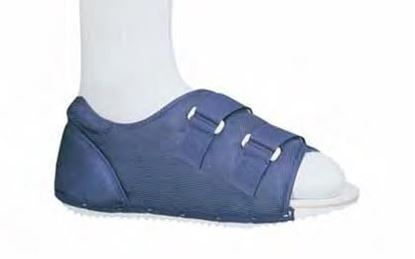Picture of ProCare® Post-Op Shoe, Male Loop Lock Closure, Blue, Large