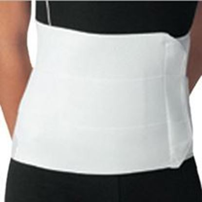"Picture of ProCare® XL 9"" White Premium 3-Panel Elastic Binder"