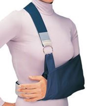 Picture of ProCare® Shoulder Immobilizer w/Foam Straps, Sling, Blue, Medium, Universal