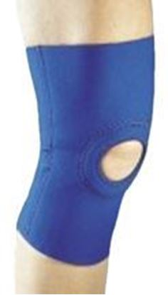 Picture of ProCare® Stabilized Knee Support, Open Popliteal, Black, Small