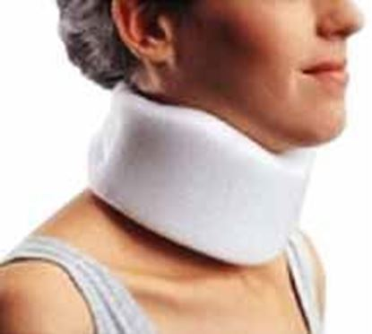 "Picture of ProCare® UNIV Clinic Cervical Collar, 2.5"" Height, White"