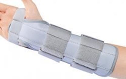 Picture of ProCare® Universal Cock-Up Wrist Splint, Grey, Universal 7 inch