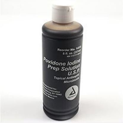 Picture of Providone Iodine Topical Preparation Scrub, PVP, 8oz.
