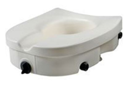 Picture of Raised Toilet Seat with Lock