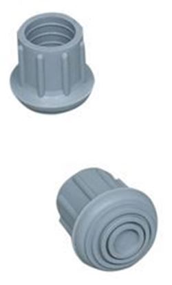 "Picture of Replacement Tip (Walker/Cane/Commode Accessory), Gray, #20, (1"")"