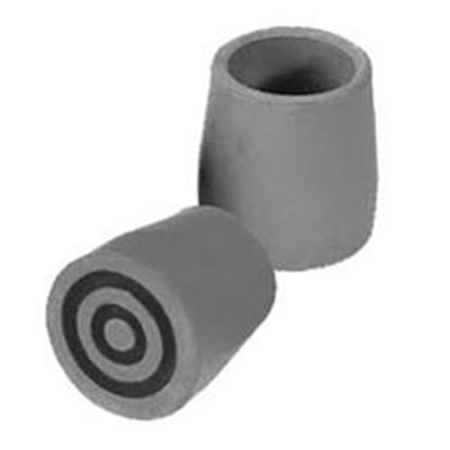 "Picture of Replacement Walker Tips, 1 1/8"" Shaft, Fits all 1.125"" Tubing"