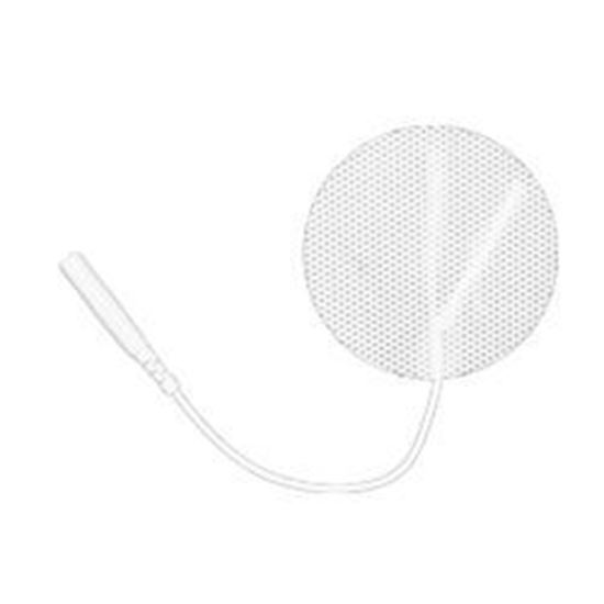 Picture of Reusable Electrode, Round White Cloth